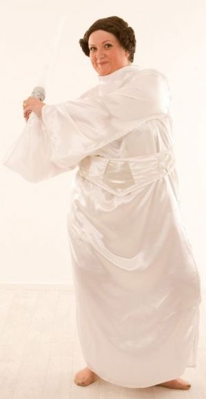 Space Princess Leia Plus Size Costume